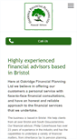 Mobile Preview of oakridgefinancialplanning.co.uk