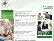 Tablet Preview of oakridgefinancialplanning.co.uk